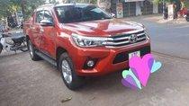 Bán Toyota Hilux năm sản xuất 2017, màu đỏ, nhập khẩu Thái