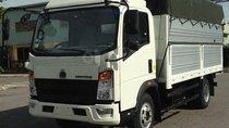 Bán xe tải 6 tấn, thùng dài 4m2, máy Howo, tặng 2% thuế trước bạ