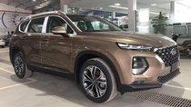 Bán xe Hyundai Santa Fe 2019, màu nâu, nhập khẩu