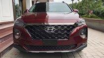 Cần bán Hyundai Santa Fe Premium 2.2L HTRAC đời 2019, màu đỏ