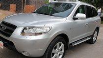 Bán Hyundai Santa Fe SLX 2.0 AT 4×2 2009, máy dầu, số tự động, màu bạc, nhập khẩu mới 80%