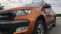 Bán Ford Ranger 3.2L Wildtrak 4x4 AT 2016, màu cam, xe Thái