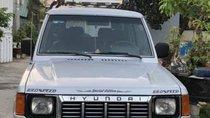 Bán xe Hyundai Galloper 1995, màu bạc, nhập khẩu, số sàn, 2 cầu 6 chỗ
