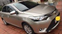 Chính chủ bán xe Toyota Vios G đời 2017, màu vàng cát, còn mới