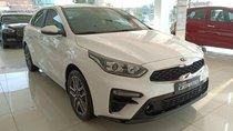 Bán xe Kia Cerato Deluxe 2019, màu trắng, giảm giá, tặng bảo hiểm, tặng phụ kiện