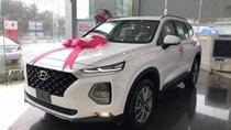 Bán Hyundai Santa Fe đời 2019, màu trắng, giá 995tr