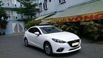 Bán chiếc Mazda 3 tự động 2017, đk 2018, màu trắng trẻ đẹp lung linh