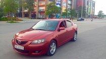 Bán xe Mazda 3 1.6AT, năm 2004, màu đỏ mận, giá bán 250 triệu