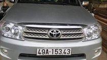 Bán ô tô Toyota Fortuner sản xuất năm 2010, màu bạc