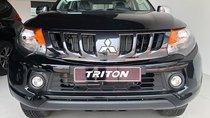 Bán xe Mitsubishi Triton 2018, màu đen, xe nhập