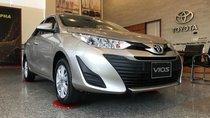 Toyota Vios 2019 giảm 25tr tiền mặt, tặng bộ DVD, camera de và bọc ghế, thanh toán 180tr nhận xe ngay