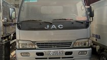 Cần bán xe tải JAC 4,750 tấn HFC máy 3586 cm3 đời 2015, màu bạc, giá 168 triệu VNĐ