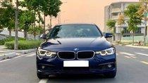 BMW 320i LCI model 2017 màu xanh cavansize /kem, đăng ký cuối 2017