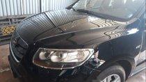 Cần bán xe Santa Fe SLX sản xuất năm 2009, màu đen, máy dầu, số tự động, nhập khẩu Hàn Quốc