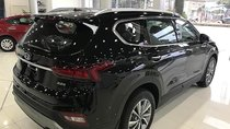 Bán Santa Fe 2019 máy xăng, bản tiêu chuẩn, số tự động - Giao xe nhanh gọn, giá cả hợp lý