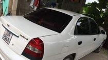 Bán Daewoo Nubira sản xuất 2002, xe cũ màu trắng, nhập khẩu