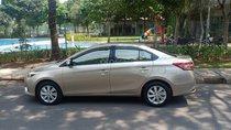 Bán xe Toyota Vios 1.5E sản xuất năm 2015, màu cát số sàn, bán giá 415 triệu