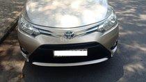 Bán xe Toyota Vios 1.5E sản xuất năm 2015, màu cát số sàn, bán giá 410 triệu