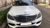 Chính chủ bán Mercedes C250 Exclusive trắng/ kem sx T12/2017, biển HN, còn BHTV