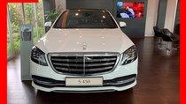Bán xe Mercedes S450 Luxury trắng nội thất nâu model 2019 chính hãng siêu sang