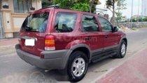 Bán ô tô Ford Escape đời 2002, màu đỏ, nhập khẩu nguyên chiếc, giá tốt