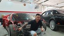 Ferrari 488 GTB gặp nạn của Tuấn Hưng sắp được tân trang