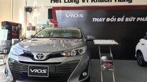 Bán xe Toyota Vios đời 2019, màu xám