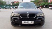 Bán BMW X3 2008, màu đen, xe nhập, số tự động
