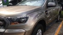 Cần bán xe Ford Ranger số sàn 1 cầu, màu ghi vàng