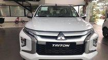 Bán ô tô Mitsubishi Triton đời 2019, màu trắng, nhập khẩu nguyên chiếc