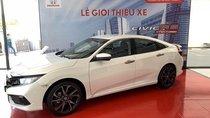 [ Xe Honda Civic 1.5Rs giao ngay] màu trắng, cam kết giá tốt nhất khi liên hệ, LH 0933.683.056