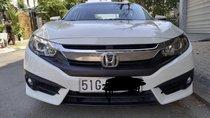 Cần bán gấp Honda Civic 1.8 E đời 2017, màu trắng, xe nhập, giá 740tr