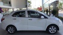 Cần bán Hyundai Grand i10 Sedan 1.2MT sản xuất 2019, màu trắng, nhập khẩu CKD, liên hệ: 0905976950
