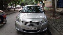 Bán Toyota Vios 1.5 G đời 2011, màu bạc