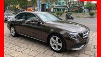 Bán xe Mercedes E250 nâu/kem 2018 mới 100% chưa lăn bánh. Trả trước 800 triệu nhận xe