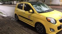 Bán ô tô Kia Morning năm 2010, màu vàng, xe nhập