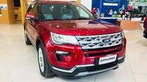 Xe giao ngay!!! Ford Explorer 2019, màu đỏ, nhập khẩu LH 0978212288