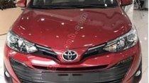 Bán xe Toyota Vios 1.5G đời 2019, màu đỏ