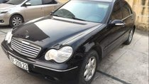 Bán Mercedes C180 2003, màu đen, giá 168tr