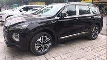 Bán xe Hyundai Santa Fe đời 2019, màu đen, giao xe ngay
