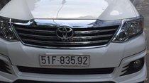 Đi nước ngoài cần bán xe gấp Toyota Fortuner G năm sản xuất 2016, màu trắng