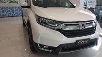 Bán Honda CR-V bản G sản xuất 2019, màu trắng, xe nhập Thái_LH: 0937079682