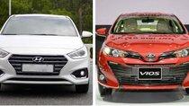 Hyundai Accent vượt mặt Toyota Vios thống trị phân khúc sedan hạng B
