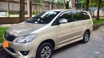 Cần bán Toyota Innova cuối 2012, xe nhà zin, biển số đẹp