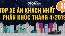 Top xe ăn khách nhất 8 phân khúc tại Việt Nam tháng 4/2019
