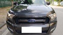 Bán Ford Ranger Wildtrak 3.2 AT màu xám sản xuất và đăng ký 12/2017 biển Hà Nội