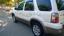 Bán Ford Escape năm sản xuất 2005, màu trắng xe gia đình, giá 215tr