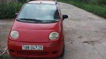 Cần bán xe Chevrolet Matiz 2001, màu đỏ, thân vỏ cứng rắn