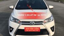 Cần bán xe Toyota Yaris 1.3G AT sản xuất năm 2015, màu trắng, nhập khẩu
