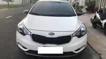Cần bán Kia K3 1.6AT, màu trắng, đời 2014, xe chỉ đi gia đình